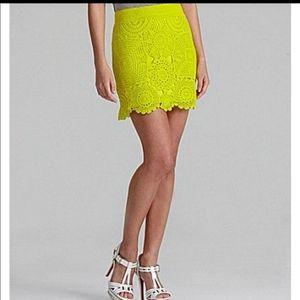 Gianni bini lace skirt